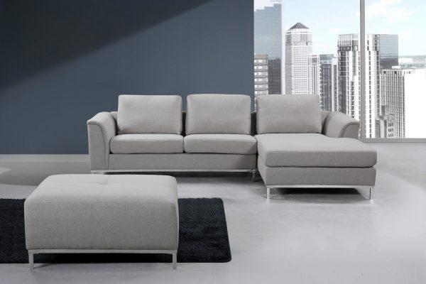 Fabric Sectional Sofa Ollon L
