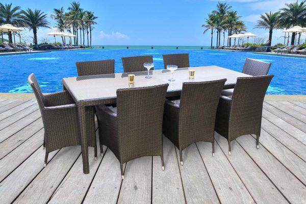 Outdoor Dining Set U2013 CHIASSO 8