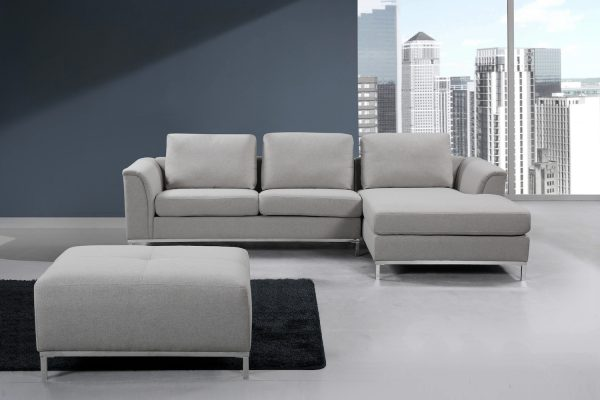 Light Gray Sectional Sofa