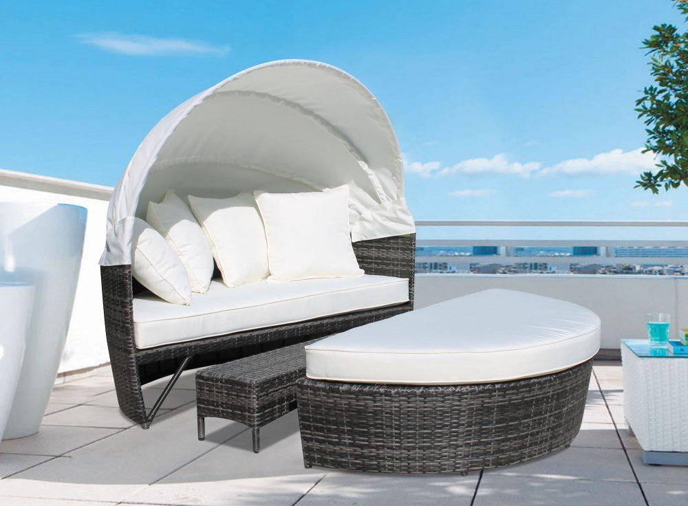 Fantastic Outdoor Loveseat Sogno Deluxe Creativecarmelina Interior Chair Design Creativecarmelinacom